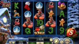 Take Santas Shop Slot