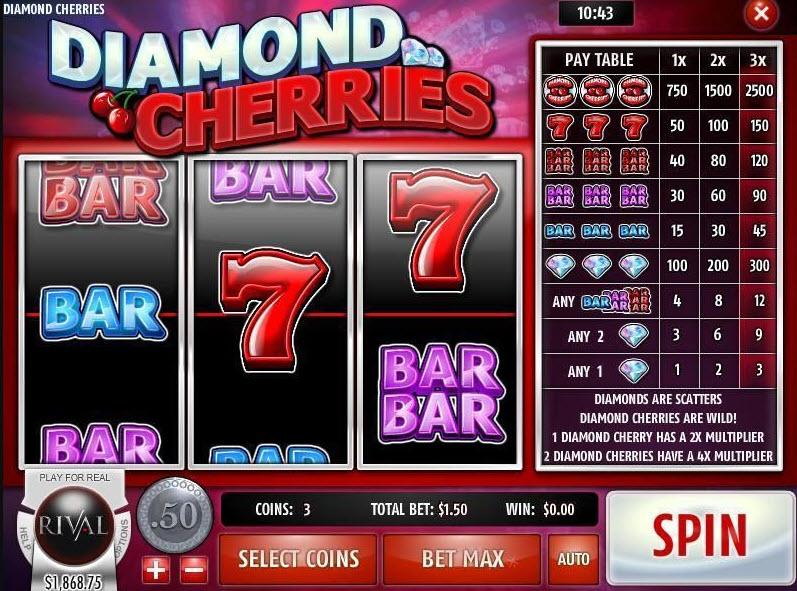Diamond Cherries Slots